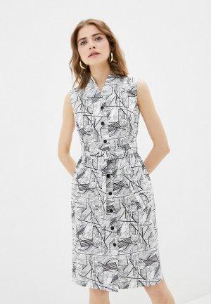 Платье Electrastyle. Цвет: разноцветный