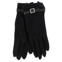 Перчатки 2377/MAELLE/C100/ черный AGNELLE