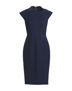 Платье до колена CATHERINE DEANE. Цвет: темно-синий