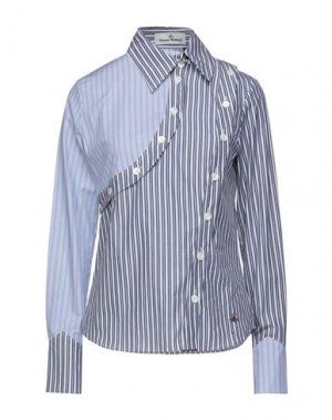 Pубашка VIVIENNE WESTWOOD. Цвет: небесно-голубой
