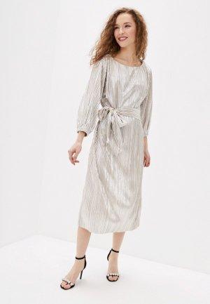 Платье Concept Club. Цвет: серебряный