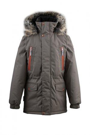 Куртка ROWEN KERRY. Цвет: серо-бежевый