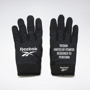 Перчатки United By Fitness Athlete Training Reebok. Цвет: black