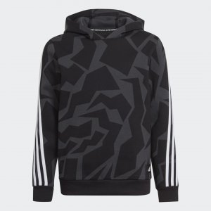 Худи Future Icons 3-Stripes Graphic Sportswear adidas. Цвет: черный