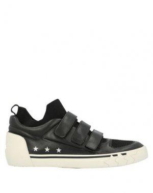 Низкие кеды и кроссовки ASH. Цвет: черный
