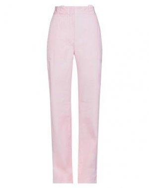 Повседневные брюки LOEWE. Цвет: розовый