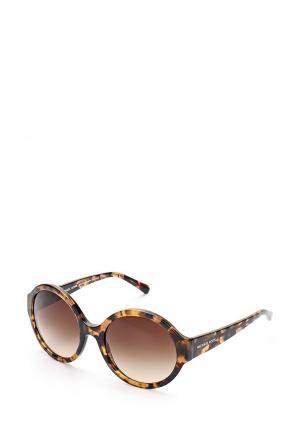 Очки солнцезащитные Michael Kors MK2035 321013. Цвет: коричневый