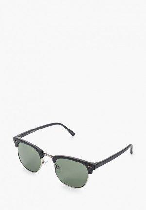 Очки солнцезащитные Jack & Jones. Цвет: черный