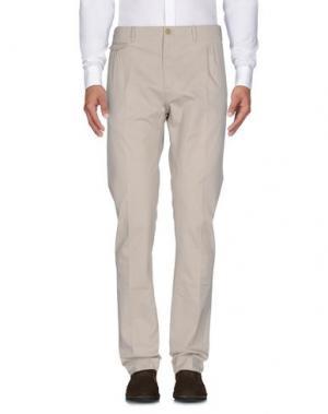 Повседневные брюки LIBERTY London. Цвет: бежевый