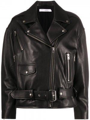 Пальто на молнии IRO. Цвет: черный