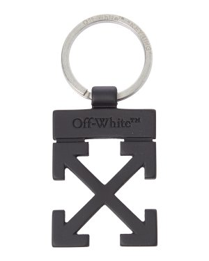 Брелок OMZG021F20MET0011000 UNI черный Off-White. Цвет: черный