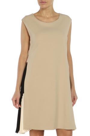 Платье Beatrice. B. Цвет: бежевый