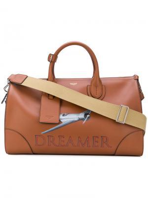 Дорожная сумка Dreamer Bertoni 1949. Цвет: коричневый