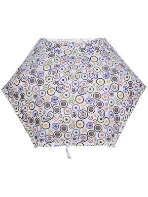 Зонт с принтом 10 CORSO COMO. Цвет: белый