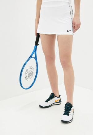 Юбка-шорты Nike W NKCT DRY SKIRT STR. Цвет: белый