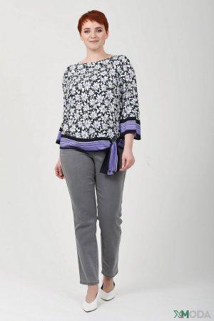 Классические джинсы Frank Walder. Цвет: серый
