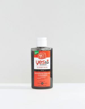 Детокс-средство для умывания с экстрактом древесного угля Yes To Tomatoes