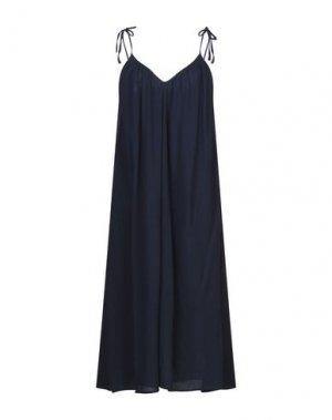 Платье длиной 3/4 ELEVEN PARIS. Цвет: темно-синий
