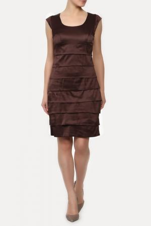 Платье Sisline. Цвет: коричневый