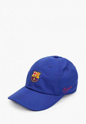Бейсболка Nike FCB Y NK DRY H86 CAP. Цвет: синий