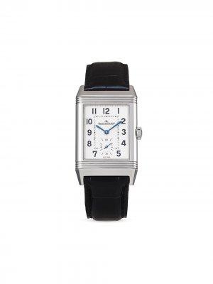 Наручные часы Reverso Classic Large Small Second pre-owned 45.6 мм 2019-го года Jaeger-LeCoultre. Цвет: серебристый