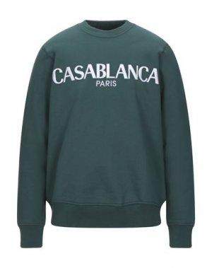 Толстовка CASABLANCA. Цвет: зеленый