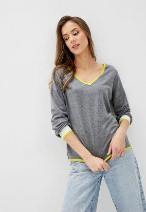 Пуловер Tezenis. Цвет: серый