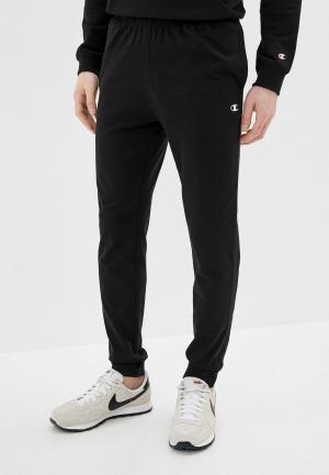 Брюки спортивные Champion LEGACY Rib Cuff Pants. Цвет: черный