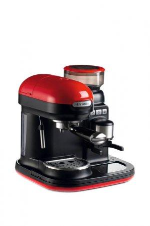Рожковая кофеварка Ariete. Цвет: красный