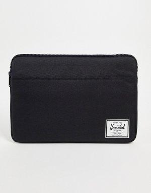 Черный чехол для ноутбука с диагональю 15 дюймов -Черный цвет Herschel Supply Co