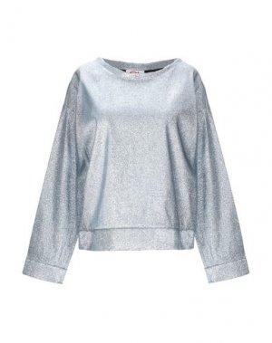 Блузка ATINSIGHT by ANDREA TURCHI. Цвет: небесно-голубой