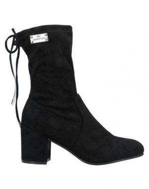 Полусапоги и высокие ботинки ROMEO GIGLI. Цвет: черный