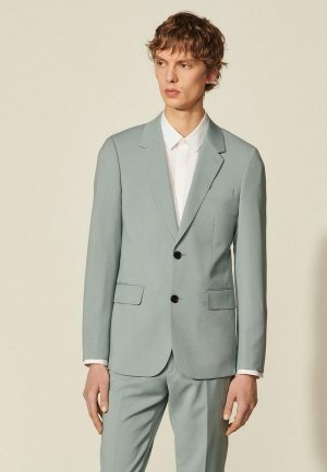Пиджак Sandro. Цвет: голубой