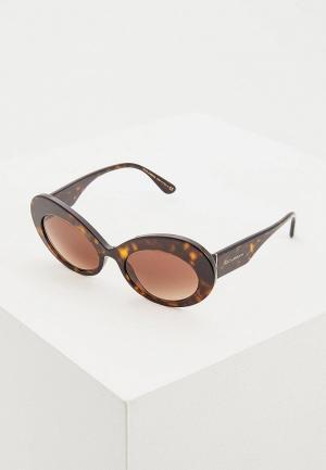 Очки солнцезащитные Dolce&Gabbana DG4345 502/13. Цвет: коричневый