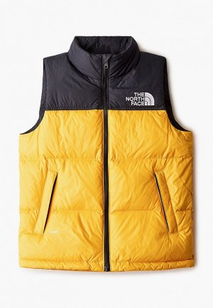 Жилет утепленный The North Face Y 96 RETRO JACKET. Цвет: желтый
