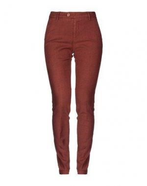 Повседневные брюки MICHAEL COAL. Цвет: коричневый