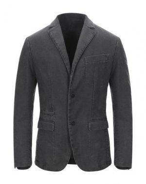 Пиджак FUTURO. Цвет: стальной серый