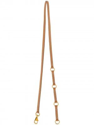 Ремень 2004-го года Hermès. Цвет: коричневый