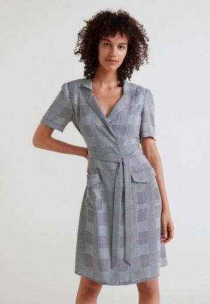 Платье Mango - CANDELA. Цвет: серый