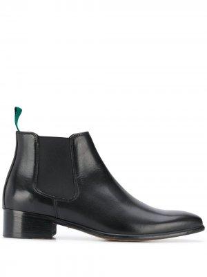 Ботинки челси с эластичными вставками Paul Smith. Цвет: черный