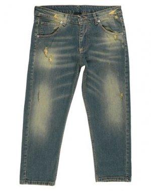 Джинсовые брюки-капри MARC ELLIS. Цвет: синий