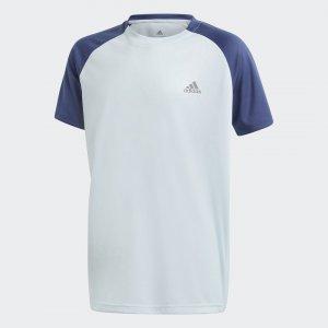 Футболка для тенниса Club Performance adidas. Цвет: none