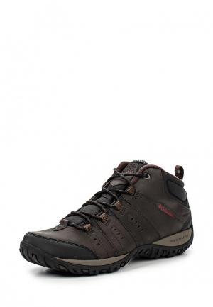 Ботинки трекинговые Columbia PEAKFREAK™ NOMAD CHUKKA WP OMNI-HEAT™. Цвет: коричневый