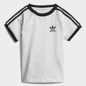 Футболка 3-Stripes Originals adidas. Цвет: черный