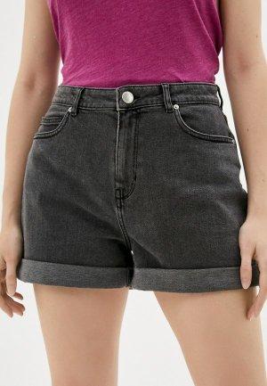 Шорты джинсовые 2nd Day. Цвет: серый
