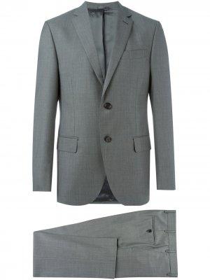 Классический костюм-двойка Fashion Clinic Timeless. Цвет: серый
