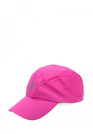 Бейсболка Salomon CAP XA. Цвет: розовый