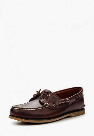 Топсайдеры Timberland CLS2I BOAT ROOTBEER BROWN. Цвет: коричневый