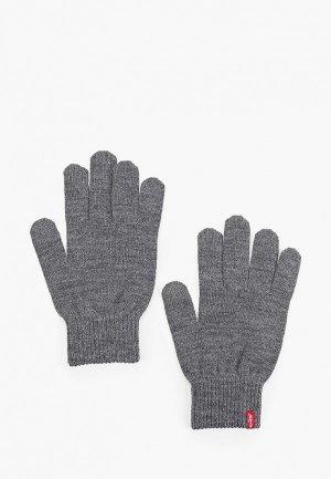Перчатки Levis® Levi's®. Цвет: серый