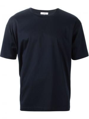 Футболки и жилеты Valentino. Цвет: синий